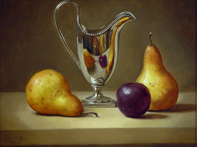 Pitcher with Fruit 1